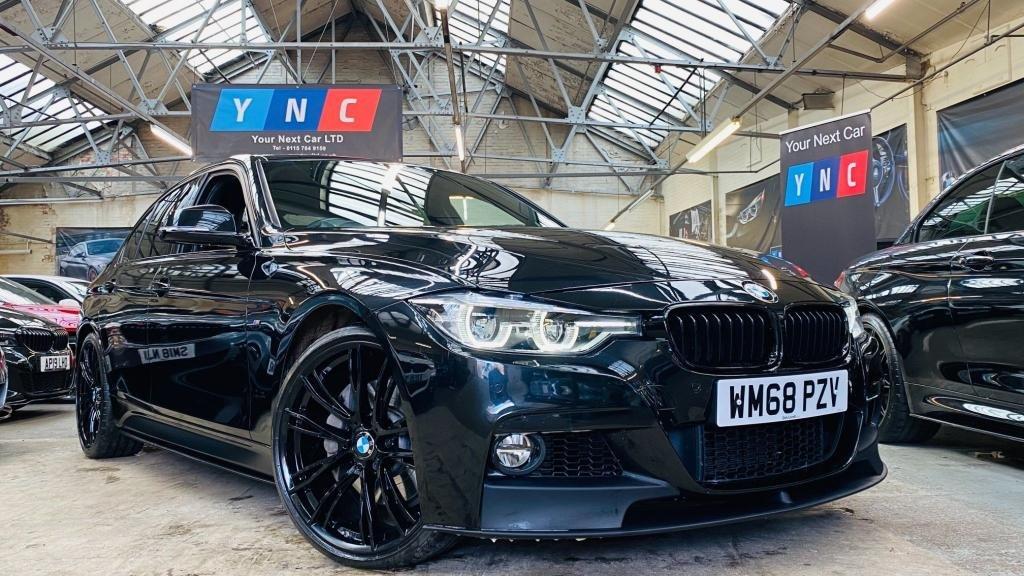 USED 2019 68 BMW 3 SERIES 3.0 340i M Sport Auto (s/s) 4dr MPERFORMANCEKIT+20'613M+REVCAM