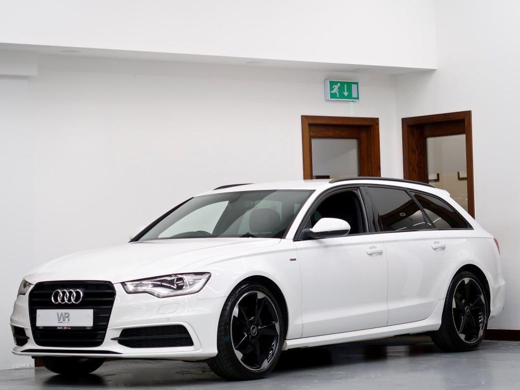 USED 2013 63 AUDI A6 2.0 TDI Black Edition Multitronic 5dr FULL LEATHER+ CAMBELT REPLACED