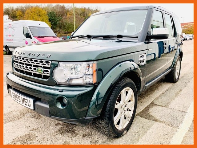 USED 2010 59 LAND ROVER DISCOVERY 3.0 4 TDV6 XS 5d 245 BHP FULL SERVICE HISTORY, CAM BELT DONE NOV 2020, 12 MONTH MOT - SATELLITE NAVIGATION - DAB RADIO - HEATED LEATHER SEATS - 7 SEATS