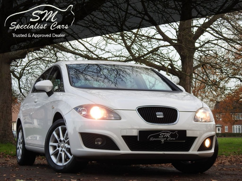 USED 2012 61 SEAT LEON 1.6 CR TDI SE COPA 5d 103 BHP ONLY 47K FROM NEW A/C VGC