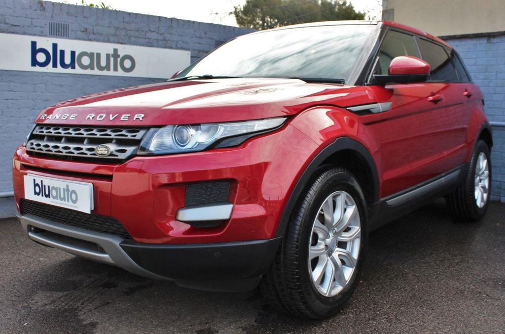 USED 2015 15 LAND ROVER RANGE ROVER EVOQUE 2.2 SD4 PURE TECH 5d 190 BHP 2 Owners, Full Land Rover History, Parking Sensors, Satellite Navigation, Cream Leather Heated Seats