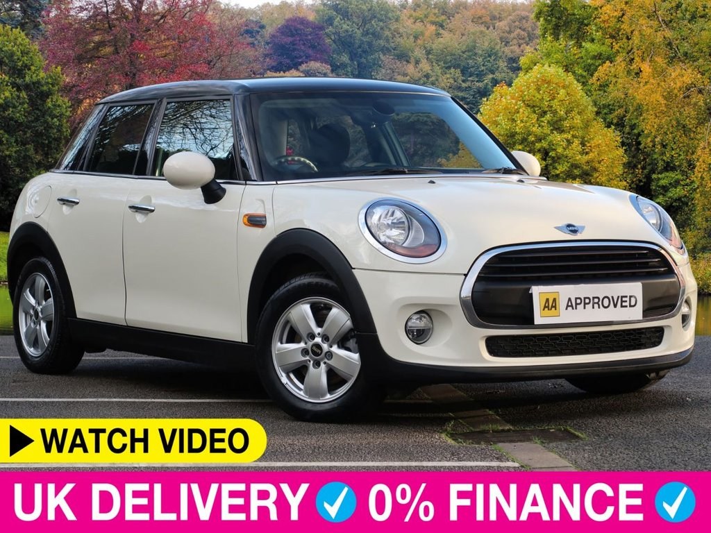USED 2016 16 MINI HATCH 1.2 One 5dr Air Con Black Roof Bluetooth Air Con Black Roof Bluetooth