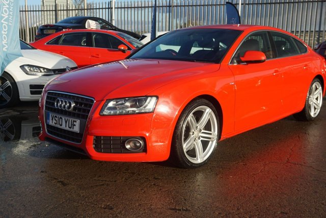 USED 2010 10 AUDI A5 2.0 SPORTBACK TFSI S LINE 5d 208 BHP GREAT LOW MILEAGE EAXMPLE