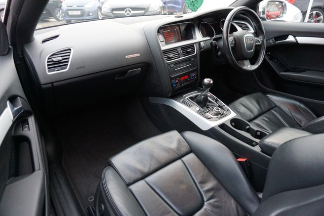 USED 2009 59 AUDI A5 4.2 S5 V8 QUATTRO 2d 354 BHP GREAT EXAMPLE S5 QUATTRO