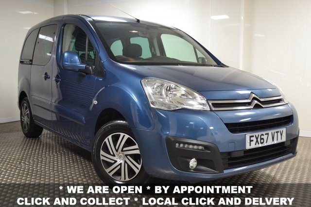 USED 2017 67 CITROEN BERLINGO MULTISPACE 1.6 BLUEHDI EDITION 5d 98 BHP *JANUARY SALE NOW ON*