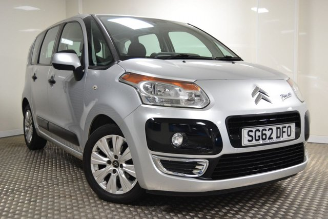 USED 2012 62 CITROEN C3 PICASSO 1.6 PICASSO VTR PLUS HDI  5d 91 BHP GREAT VALUE C3 PICASSO