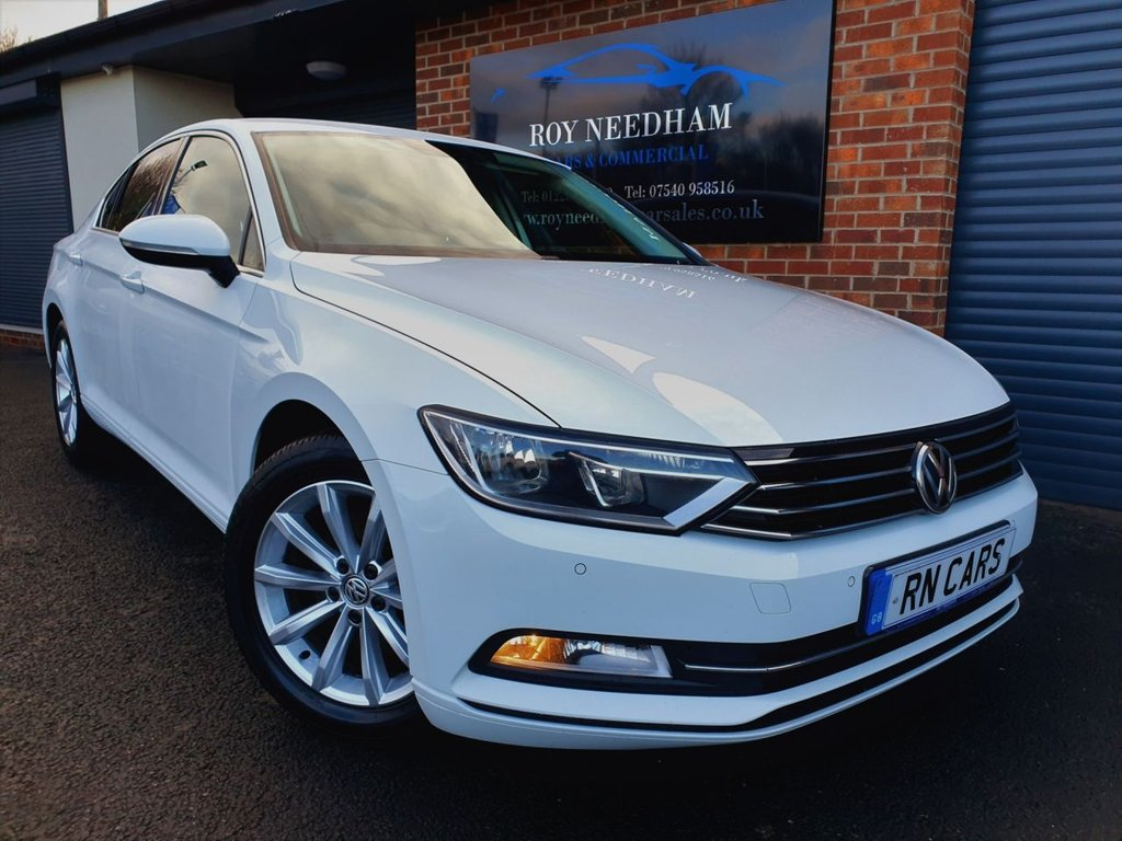 USED 2016 66 VOLKSWAGEN PASSAT 2.0 SE BUSINESS TDI BLUEMOTION TECHNOLOGY 4DR 148 BHP ** SAT NAV - 1 OWNER - READY TO GO **