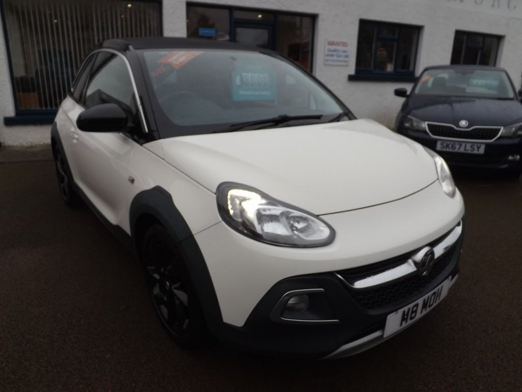 USED 2015 65 VAUXHALL ADAM 1.2 ROCKS AIR 3d 69 BHP