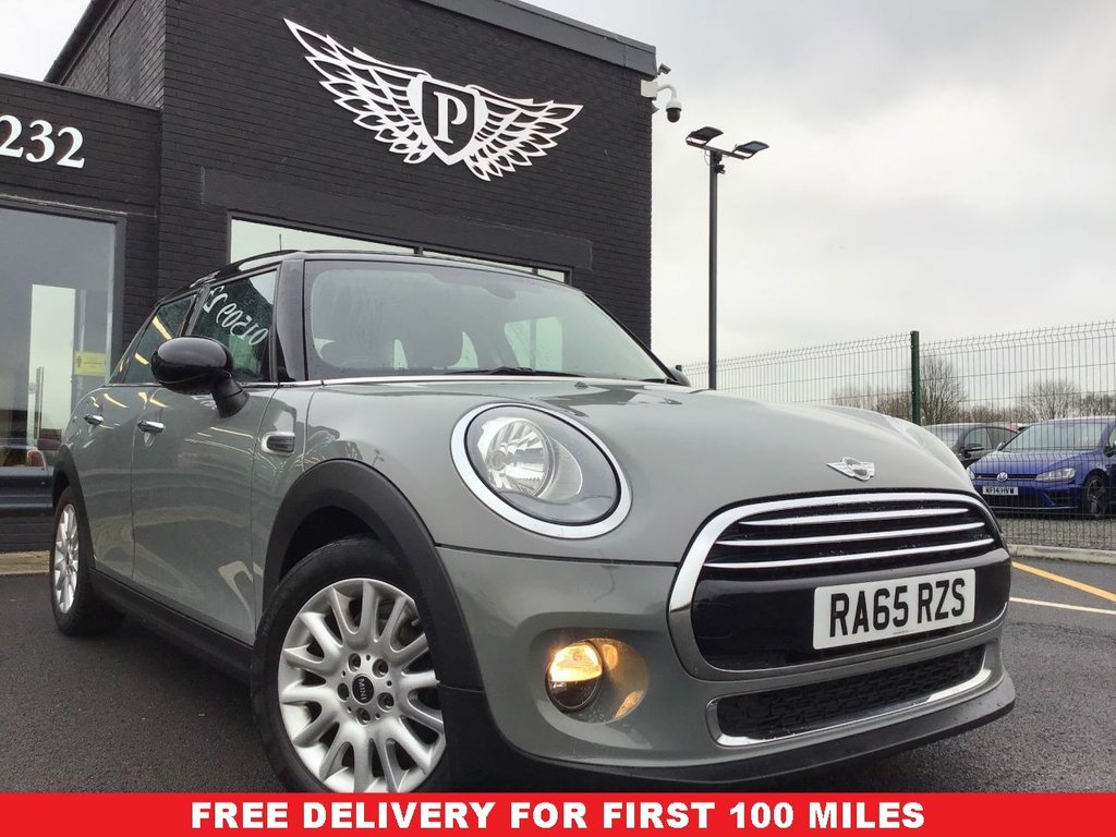 USED 2015 65 MINI HATCH COOPER 1.5 COOPER 5d 134 BHP FINANCE RATES FROM 5.9%  *FULL VALET, MOT, SERVICE AND WARRANTY INC - 7 DAYS MONEY BACK GUARANTEE - FREE DELIVERY*