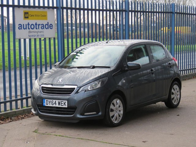 USED 2014 64 PEUGEOT 108 1.0 ACTIVE 5dr 68 Bluetooth Air con DAB  Finance arranged Part exchange available Open 7 days ULEX Compliant