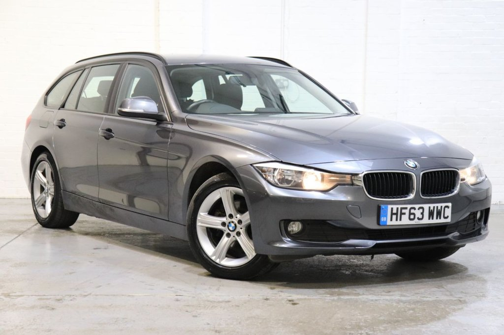 USED 2013 63 BMW 3 SERIES 2.0 320D XDRIVE SE TOURING 5d 181 BHP 1 Owner + Leather +Cruise + Parking Aid