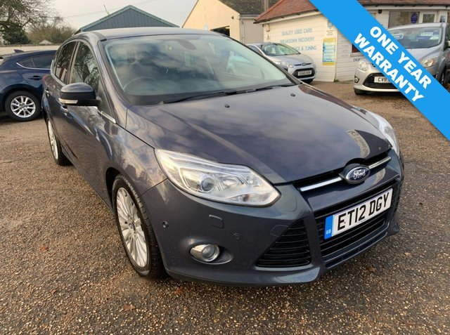 USED 2012 12 FORD FOCUS 2.0 TITANIUM X TDCI 5d 161 BHP ONE YEAR WARRANTY INCLUDED /  AUTOMATIC / AUTO PARK ASSIST / CRUISE CONTROL / PRIVACY GLASS / VOICE COMMS / BLUETOOTH / HEATED SEATS