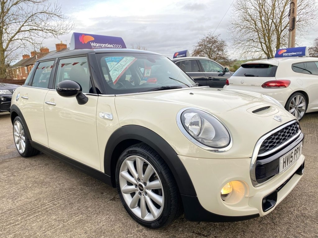 USED 2015 15 MINI HATCH COOPER 2.0 COOPER SD 5d 168 BHP * 1 OWNER * SAT NAV * LEATHER * CHILLI PACK * MEDIA XL * STUNNING *