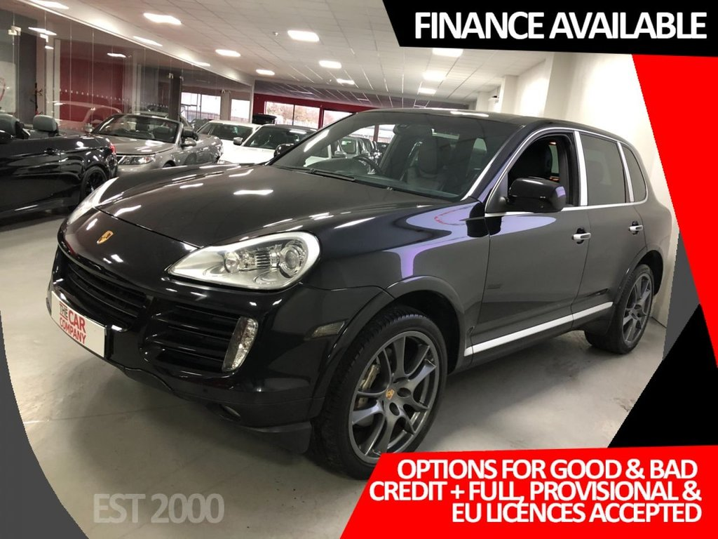 USED 2009 58 PORSCHE CAYENNE 4.8 S TIPTRONIC S 5d 385 BHP * LOW MILES * RECENTLY SERVICED * 2 KEYS *