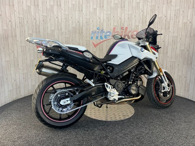 BMW F800R at Rite Bike