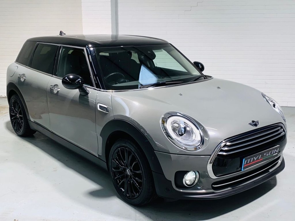 USED 2016 66 MINI CLUBMAN 1.5 COOPER 5d 134 BHP Moonwalk Grey with Black Leather Interior, Nav XL, Glass Roof, Automatic