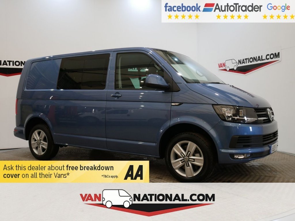 USED 2019 19 VOLKSWAGEN TRANSPORTER 2.0 T32 TDI KOMBI HIGHLINE BMT 150 BHP  *AIR CON * EURO 6* * ONE OWNER * EURO 6 * 5 SEATS * ZERO DEPOSIT FINANCE AVAILABLE *