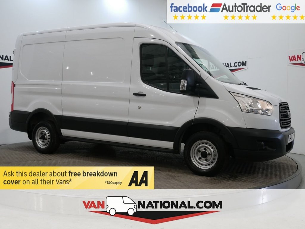 USED 2016 16 FORD TRANSIT 2.2 290 SHR P/V 100 BHP L2 H2 (MWB MEDIUM ROOF LOW MILES) * ONE OWNER * MWB * BLUETOOTH * ZERO DEPOSIT FINANCE AVAILABLE *