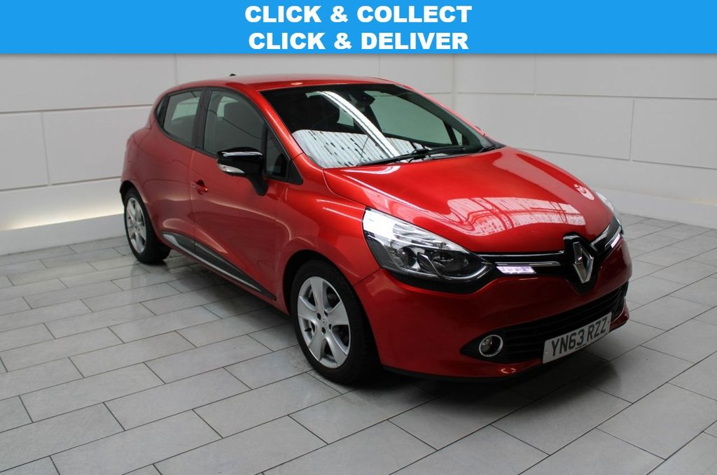 USED 2013 63 RENAULT CLIO 1.5 dCi ECO ENERGY Dynamique MediaNav (stop/start) 5dr