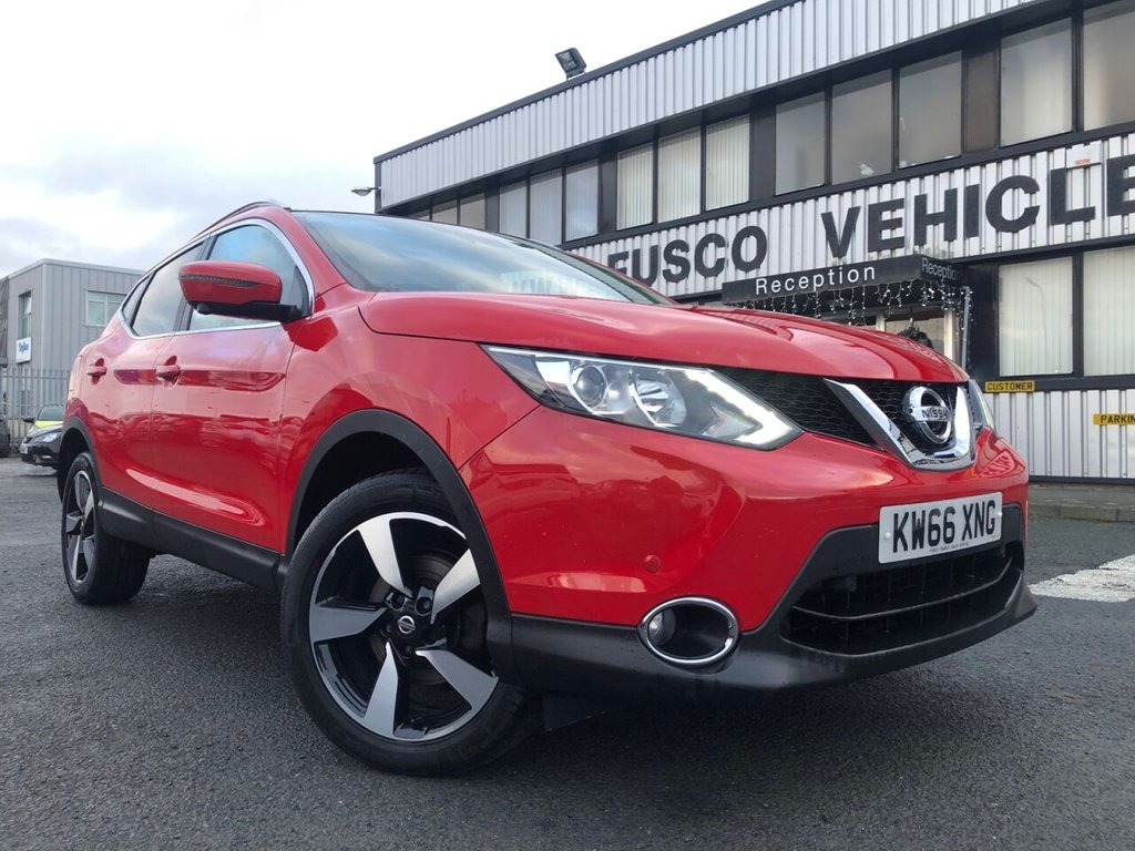 USED 2017 66 NISSAN QASHQAI 1.6 N-CONNECTA DCI 5d 128 BHP £244 a month, T&Cs apply.