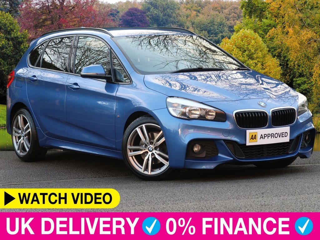 USED 2016 65 BMW 2 SERIES ACTIVE TOURER 218i M Sport Step Auto 1.5 T 5dr Sat Nav Rev Cam Leather Seats