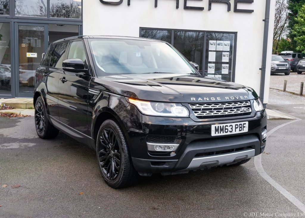 USED 2014 63 LAND ROVER RANGE ROVER SPORT 3.0 SDV6 HSE 5d 288 BHP