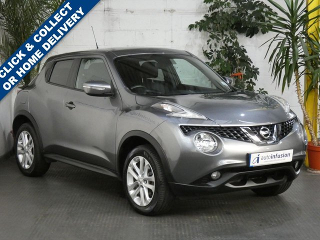 2017 67 NISSAN JUKE 1.6 N-CONNECTA XTRONIC 5d 117 BHP