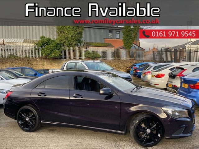 """USED 2015 65 MERCEDES-BENZ CLA 2.1 CLA 200 D SPORT 5d 134 BHP FULL SERVICE RECORD - 17"""" ALLOYS - SATELLITE NAVIGATION - 1/2 LEATHER INTERIOR"""