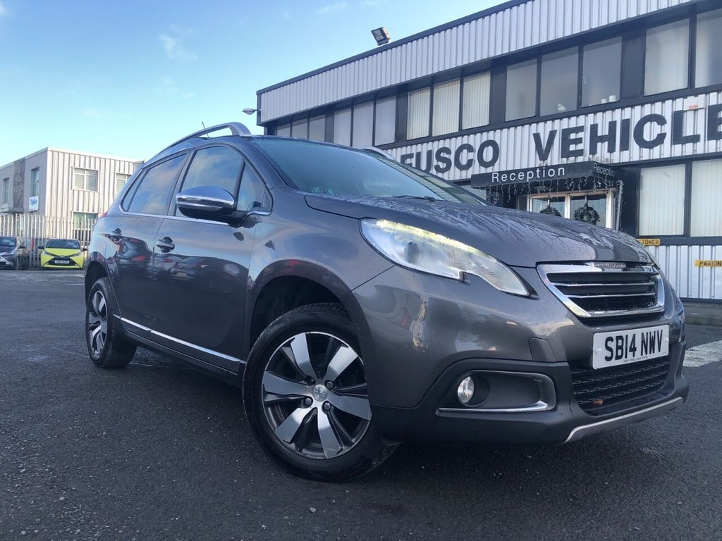 USED 2014 14 PEUGEOT 2008 1.6 E-HDI ALLURE 5d 92 BHP £117 a month, T&Cs apply.