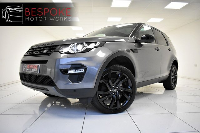 2017 67 LAND ROVER DISCOVERY SPORT 2.0 TD4 HSE BLACK 180 BHP