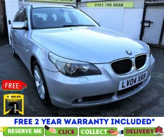 USED 2004 04 BMW 5 SERIES 2.5 525I SE TOURING 5d AUTO 190 BHP *CLICK & COLLECT OR DELIVERY