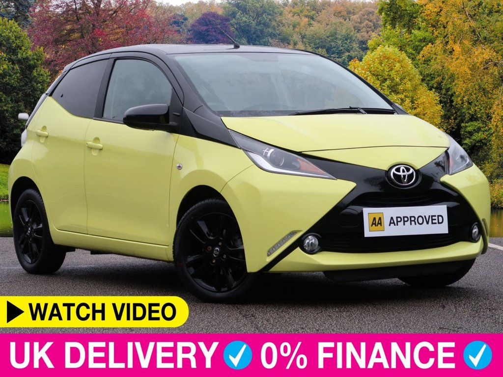 USED 2017 17 TOYOTA AYGO 1.0 VVT-i X-Cite 3 5dr Special Edition Air Con Alloys
