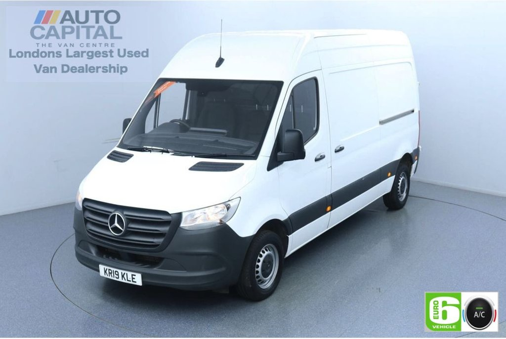 USED 2019 19 MERCEDES-BENZ SPRINTER 2.1 314 CDI 141 BHP L2 H2 MWB Euro 6 Low Emission Keyless Go | Apple CarPlay | Android Auto | MBUX Multimedia | 7-Inch Touch Screen | Active Brake Assist