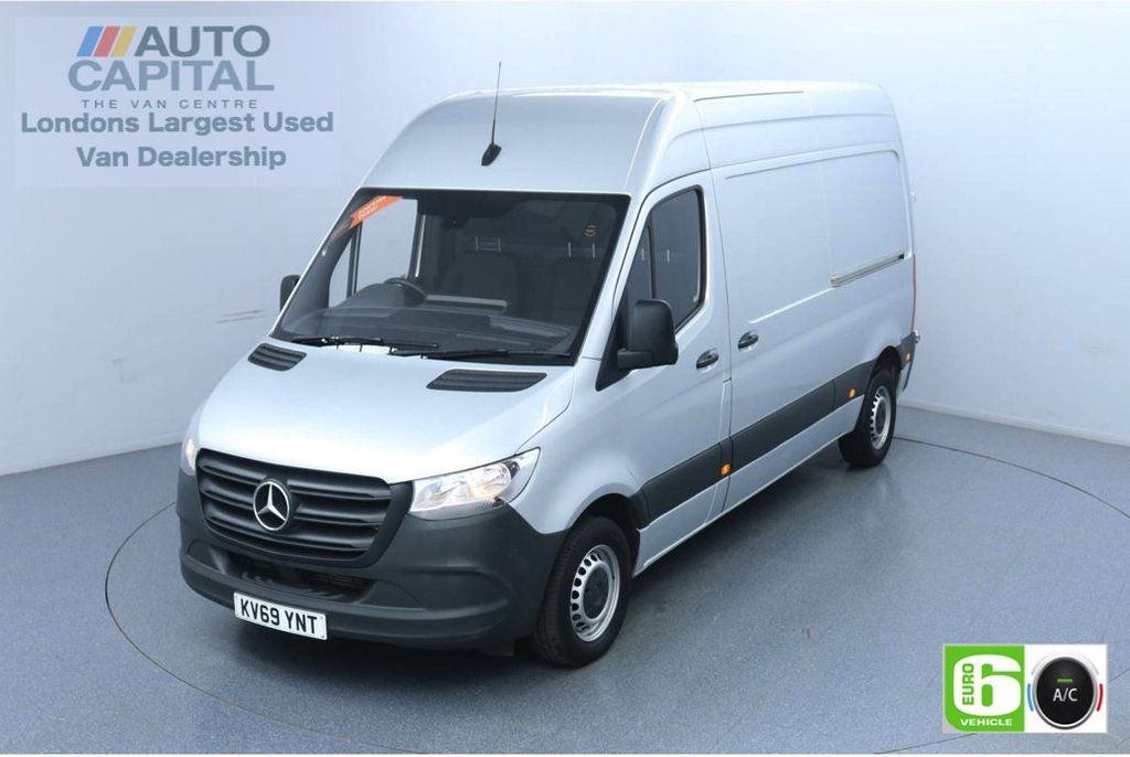 USED 2019 69 MERCEDES-BENZ SPRINTER 2.1 314 CDI 141 BHP L2 H2 MWB Euro 6 Low Emission Finance Available Online | Air Conditioning | UK Delivery