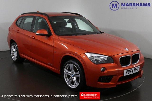 2015 64 BMW X1 2.0 SDRIVE18D M SPORT 5d 141 BHP