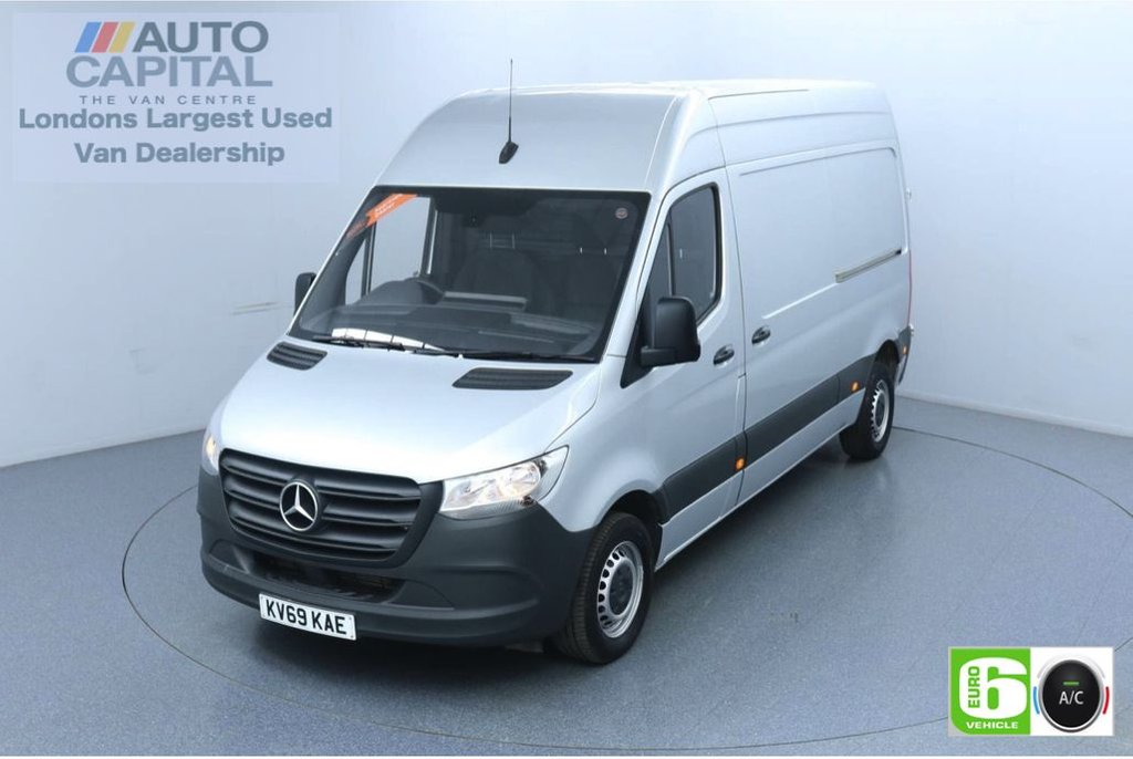 USED 2019 69 MERCEDES-BENZ SPRINTER 2.1 314 CDI 141 BHP L2 H2 MWB Euro 6 Low Emission Finance Available Online   Air Conditioning   Rear Tow Fitted