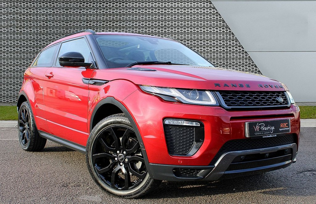 USED 2016 66 LAND ROVER RANGE ROVER EVOQUE 2.0 TD4 HSE DYNAMIC LUX 3d 177 BHP **COUPE/PAN ROOF/LUX PACK**
