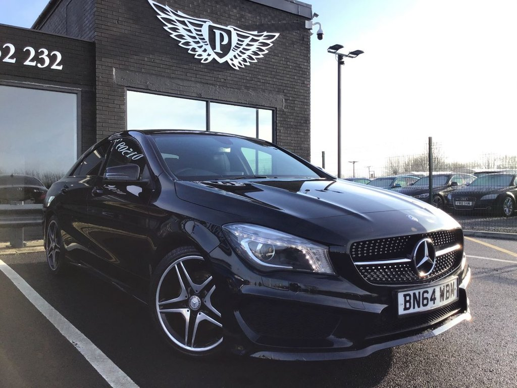 USED 2014 64 MERCEDES-BENZ CLA 2.1 CLA220 CDI AMG SPORT 4d 170 BHP FULL VALET, MOT, SERVICE AND WARRANTY INC - 7 DAYS MONEY BACK GUARANTEE - FREE DELIVERY - FINANCE RATES FROM 5.9%*