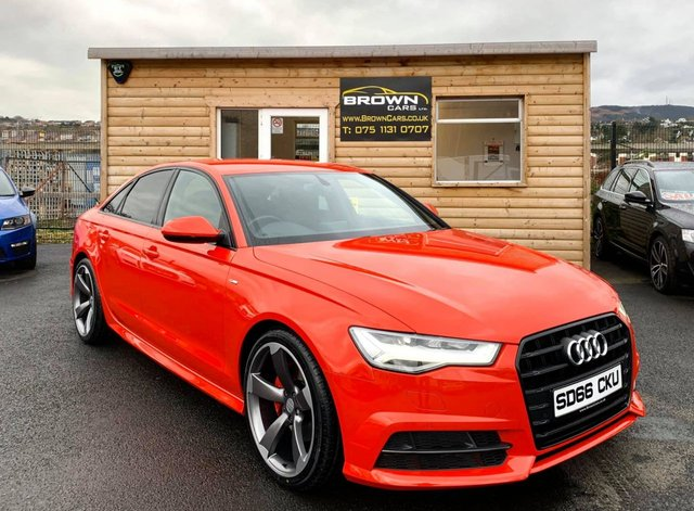 USED 2016 66 AUDI A6 2.0 TDI ULTRA S LINE 4d 188 BHP **** Finance Available****