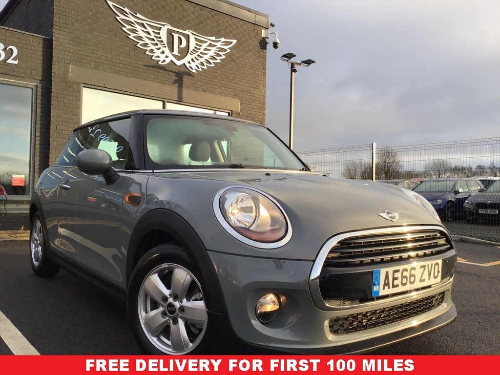 USED 2016 66 MINI HATCH COOPER 1.5 COOPER 3d 134 BHP *FULL VALET, MOT, SERVICE AND WARRANTY INC - 7 DAYS MONEY BACK GUARANTEE - FREE DELIVERY*