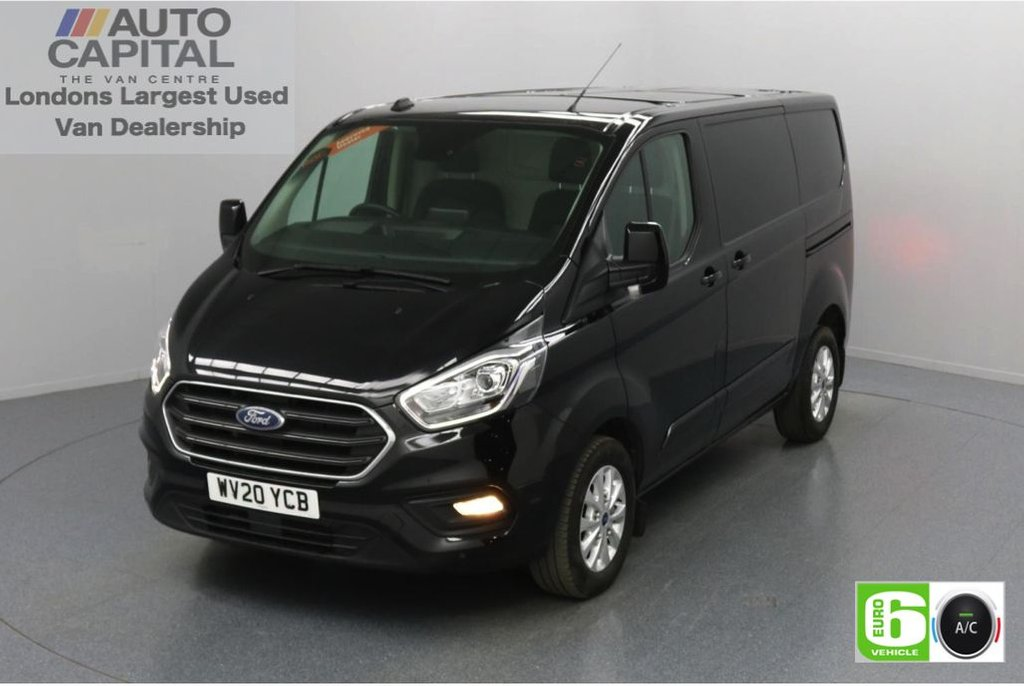 USED 2020 20 FORD TRANSIT CUSTOM 2.0 300 Limited EcoBlue 130 BHP L1 H1 Euro 6 Low Emission Finance Available Online | Front and rear parking distance sensors | Apple CarPlay | Voice Control System