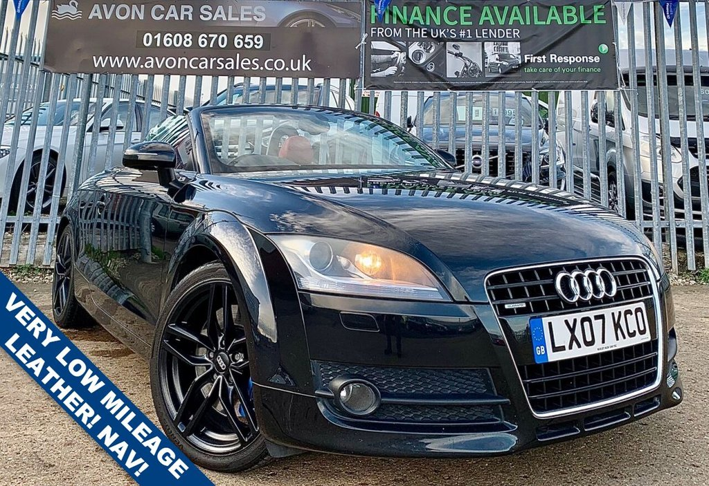 USED 2007 07 AUDI TT 3.2 QUATTRO S 2d DSG AUTOMATIC 250 BHP -  VERY LOW MILEAGE! FULL LEATHER! SAT NAV! HEATED SEATS! BOSE SOUND SYSTEM! GOOD SERVICE HISTORY!