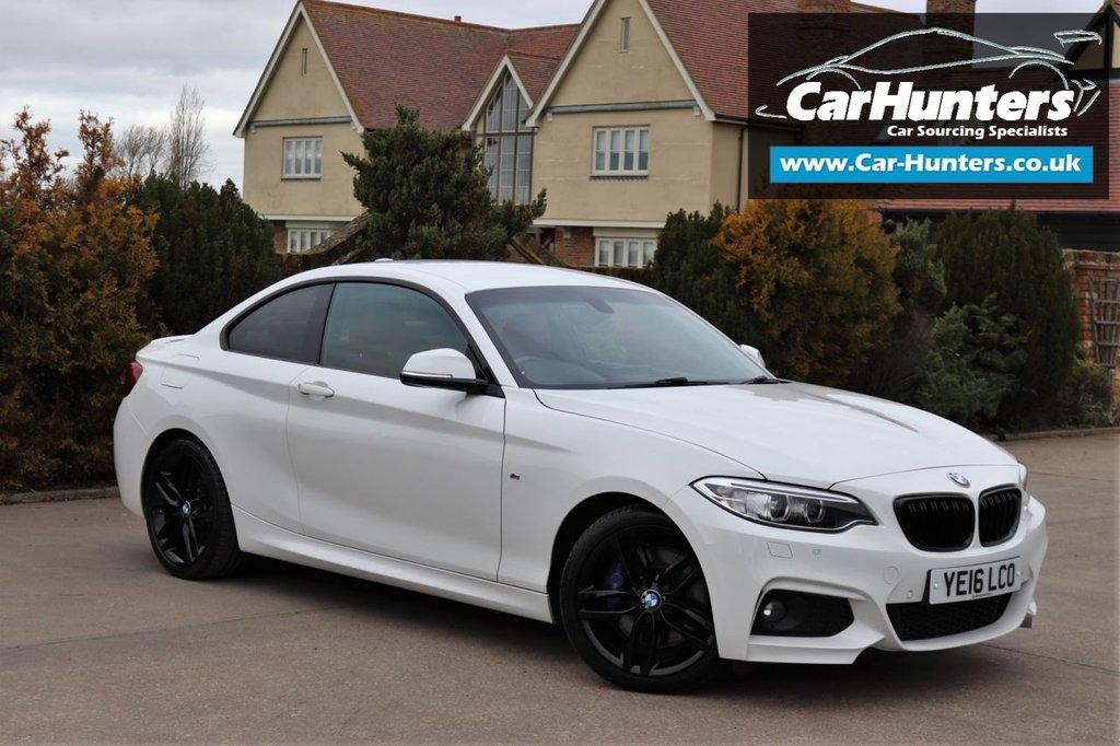 USED 2016 16 BMW 2 SERIES 2.0 225D M SPORT 2d 222 BHP
