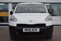 USED 2015 15 PEUGEOT PARTNER 1.6 HDI CRC 90 BHP AVAILABLE FOR ONLY £145 PER MONTH WITH £0 DEPOSIT