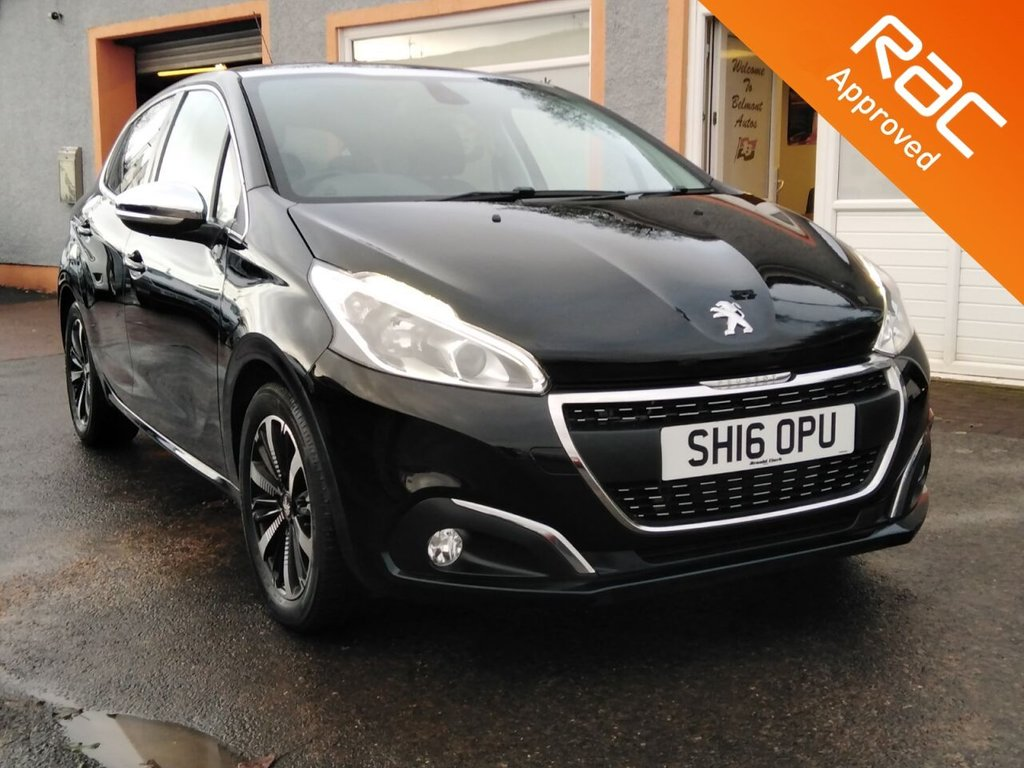 USED 2016 16 PEUGEOT 208 1.2 ALLURE 5d 82 BHP Panoramic Glass Roof, Sat Nav, Touchscreen, DAB Radio, Apple Car Play, Mirror link