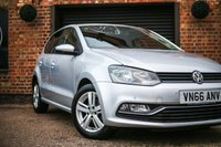 USED 2016 66 VOLKSWAGEN POLO 1.4 MATCH TDI 5d 74 BHP