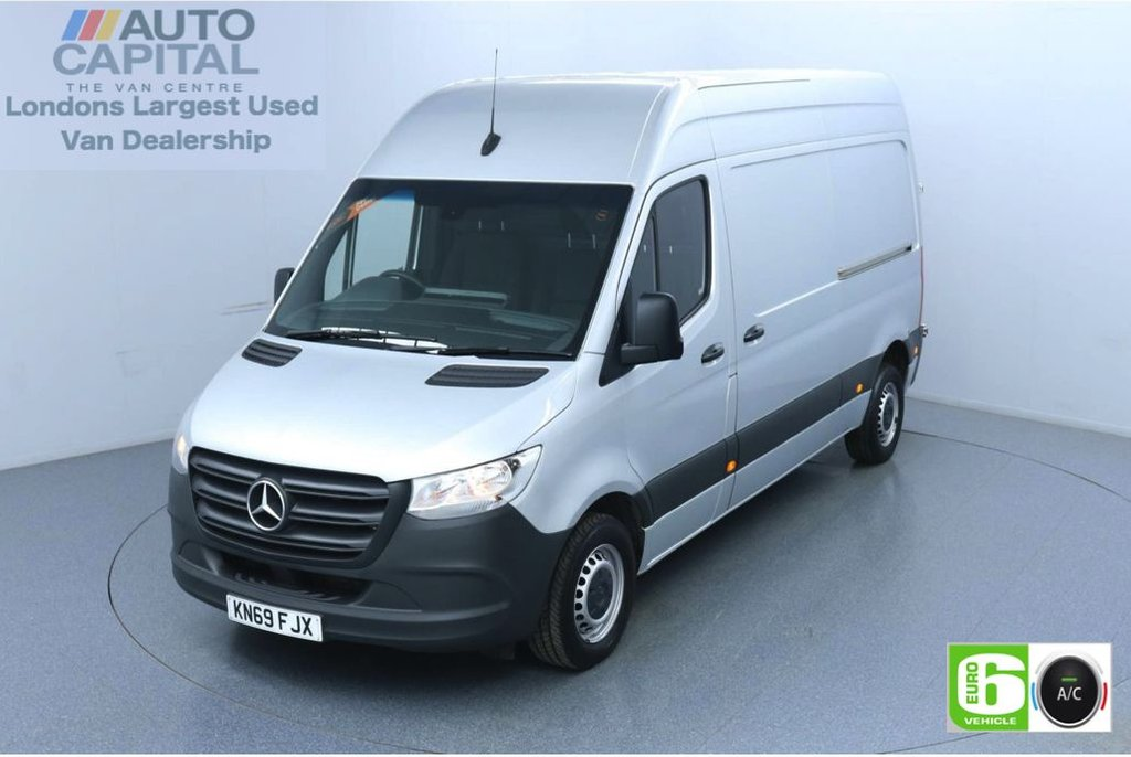 USED 2019 69 MERCEDES-BENZ SPRINTER 2.1 314 CDI 141 BHP L2 H2 MWB Euro 6 Low Emission Finance Available Online | Air Conditioning | Keyless Go