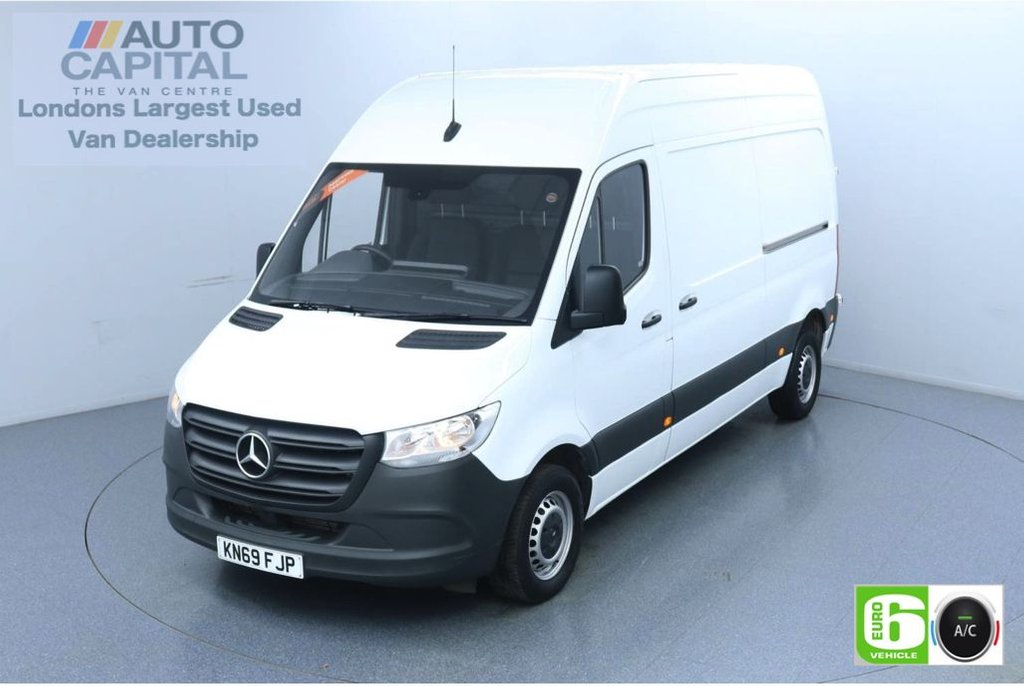 USED 2019 69 MERCEDES-BENZ SPRINTER 2.1 314 CDI 141 BHP L2 H2 MWB Euro 6 Low Emission Finance Available Online | Air Conditioning | Keyless Go | UK Delivery
