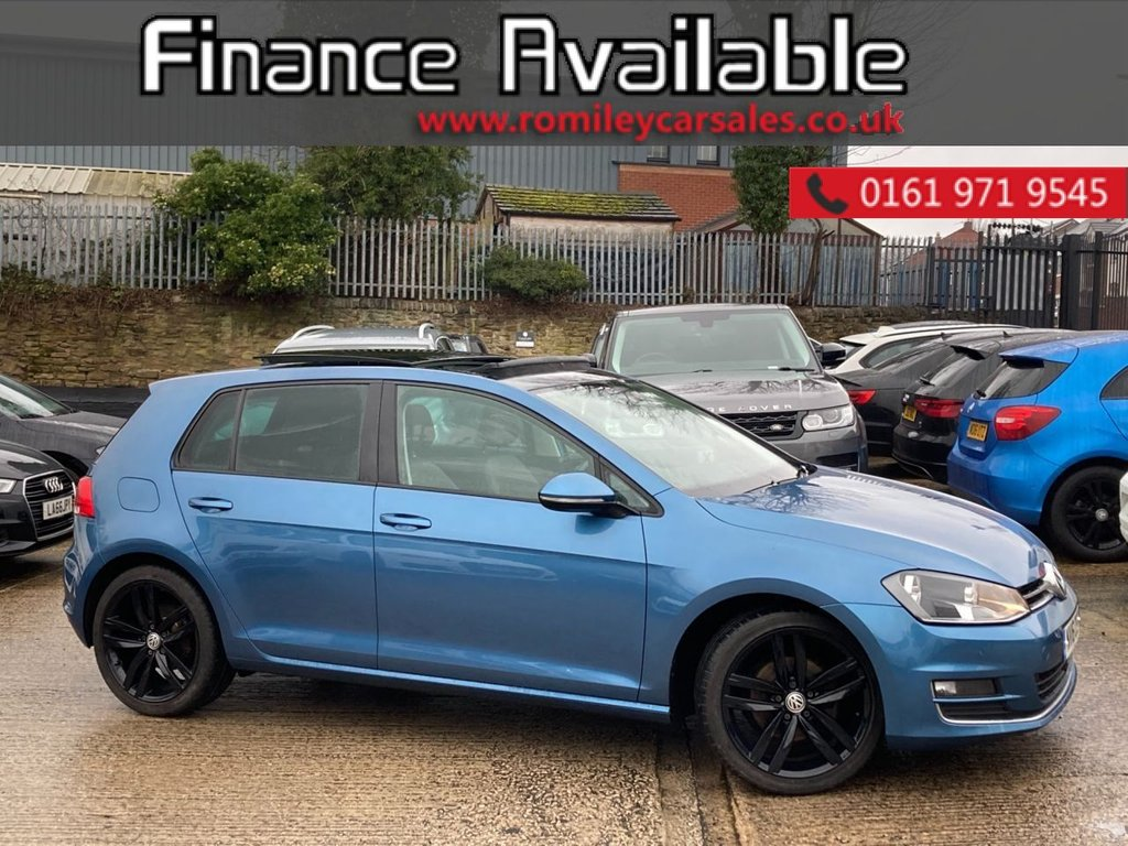 USED 2016 16 VOLKSWAGEN GOLF 2.0 GT EDITION TDI BLUEMOTION TECHNOLOGY 5d 148 BHP FULL SERVICE RECORD - SATELITTE NAVIGATION - PANORAMIC ROOF - BLUETOOTH