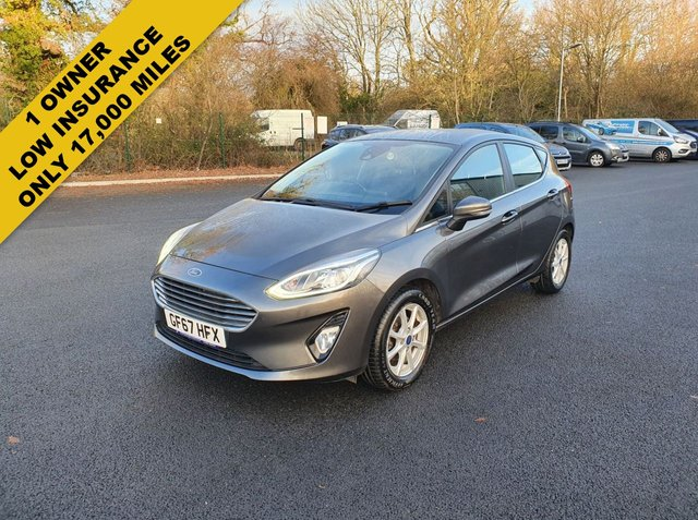 2017 67 FORD FIESTA 1.1 ZETEC NEW MODEL